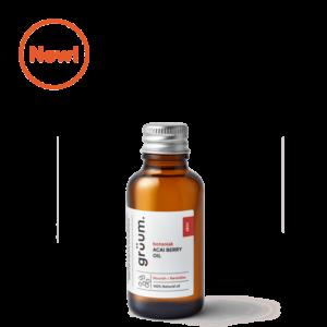 New bottle of botanisk acai berry face oil